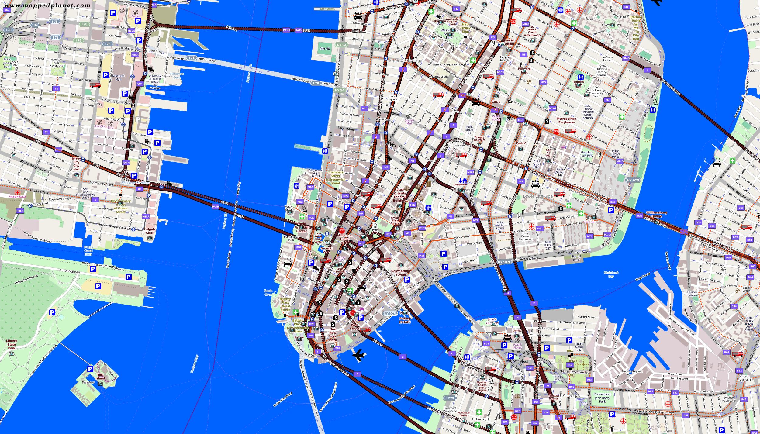 . city maps new york