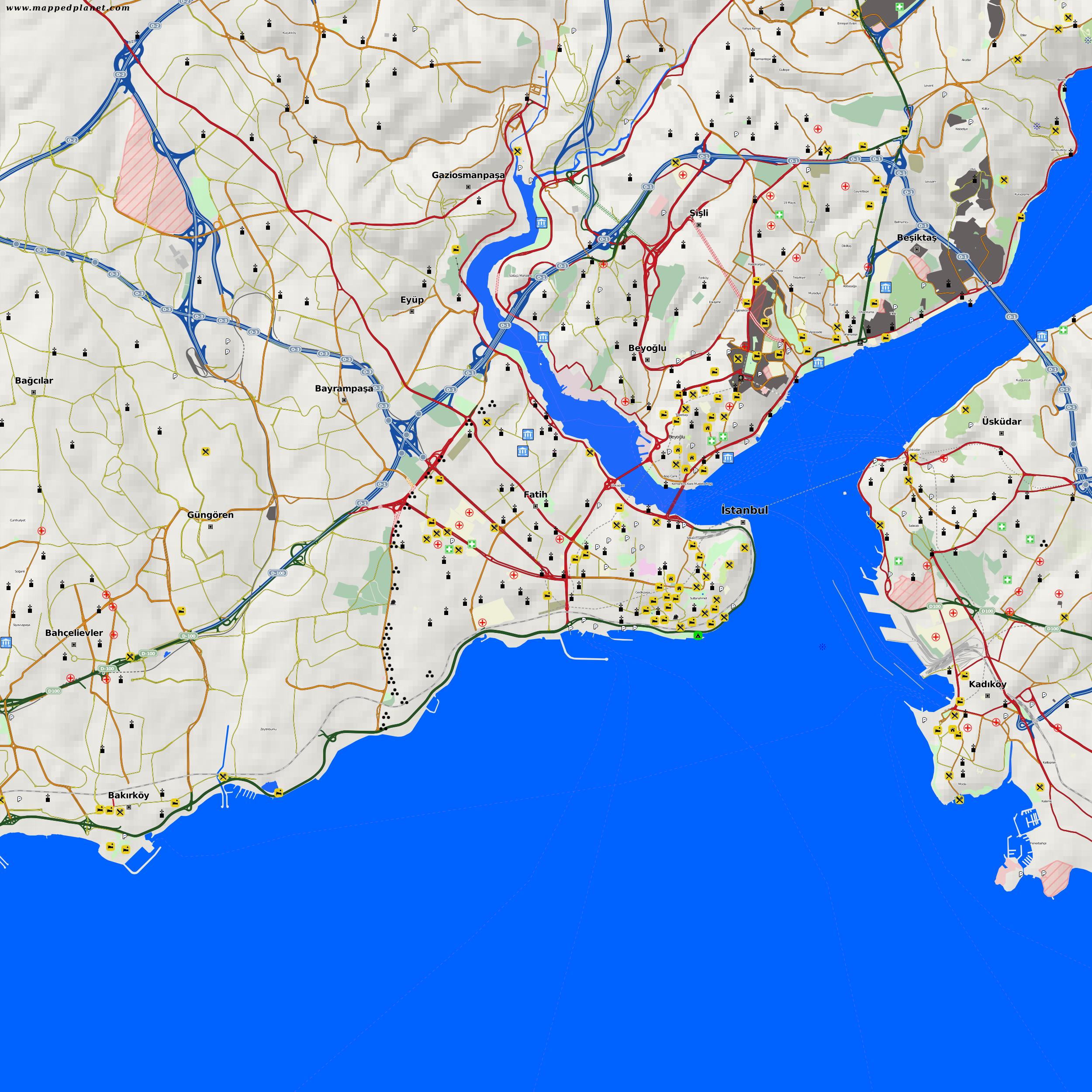 Istanbul Karte