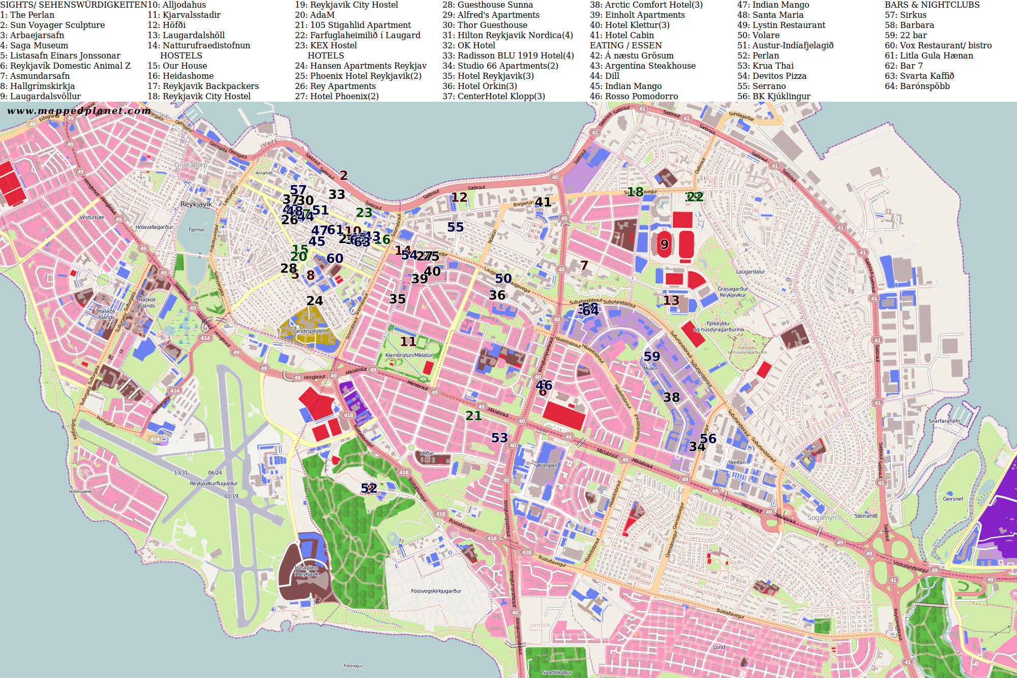 Reykjavik Map Related Keywords and Suggestions Reykjavik Map Long – Tourist Map Of Reykjavik