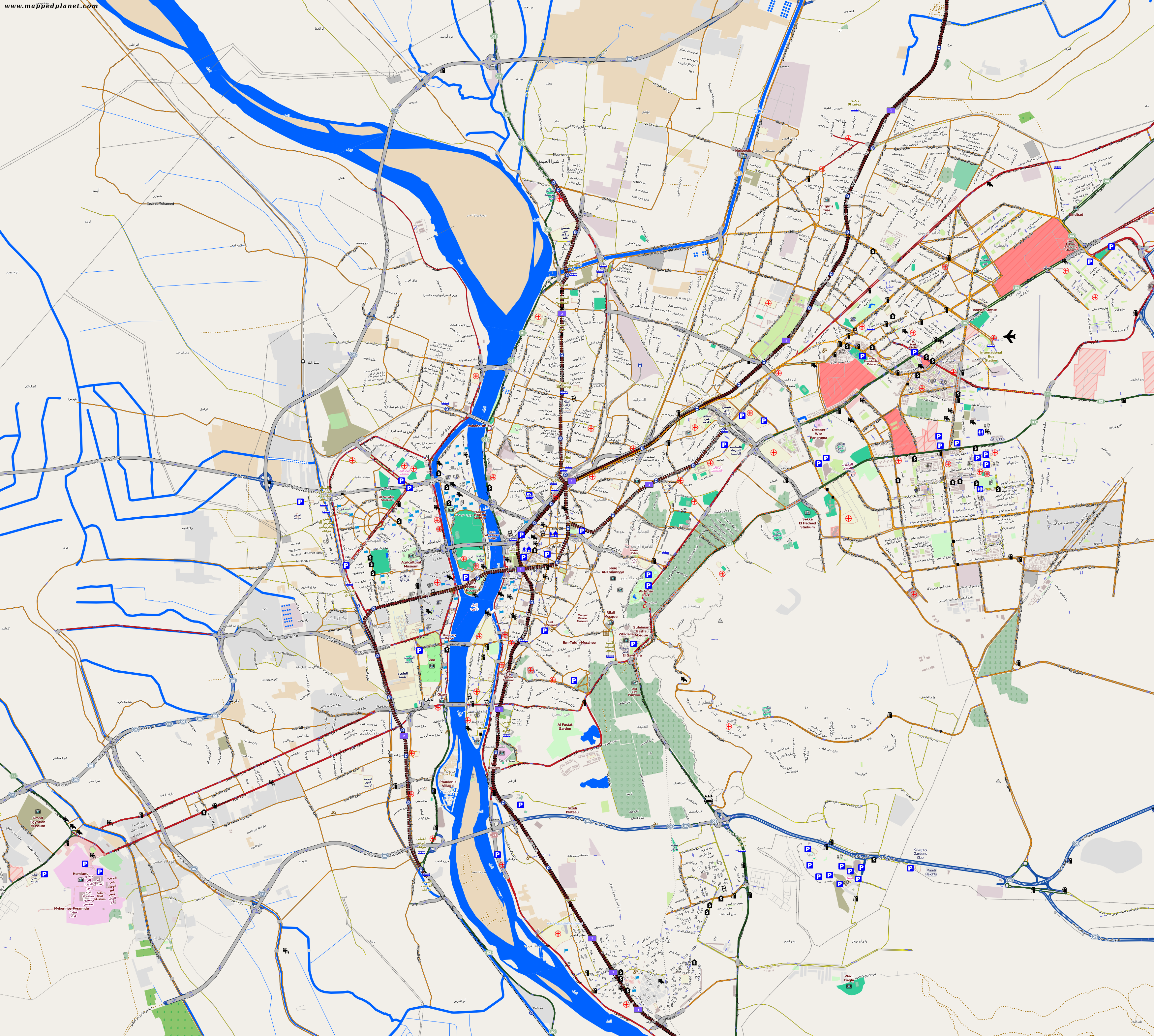 City maps Cairo