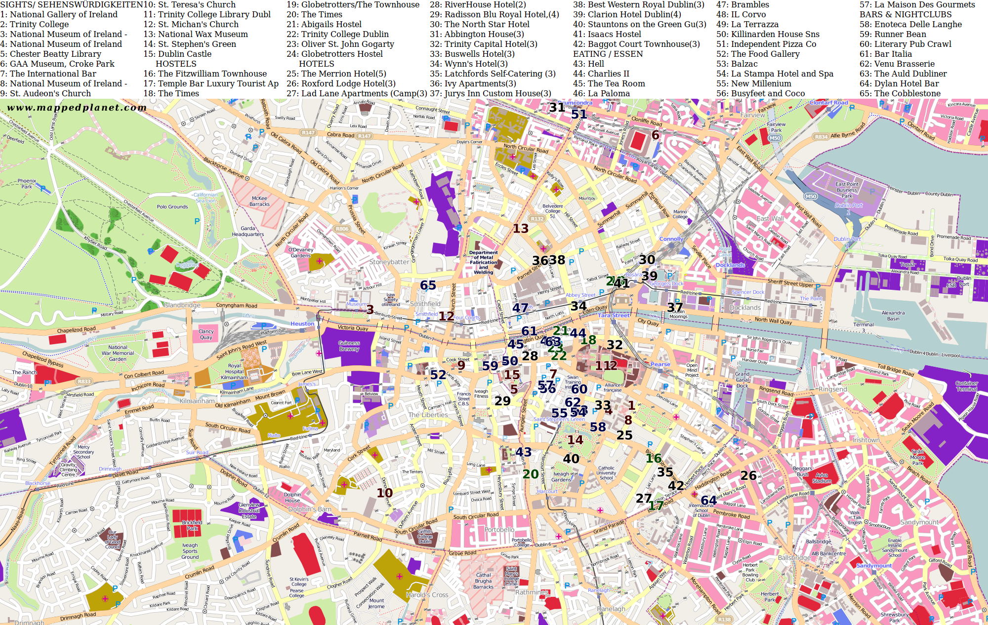 dublin city map printable with Stadtplaene 35 Dublin on Map Puerto Rico also Stadtplaene 35 Dublin together with Manchesters New Tube Map Style Pub Guide Boozers further Amsterdam further Belfast Map.