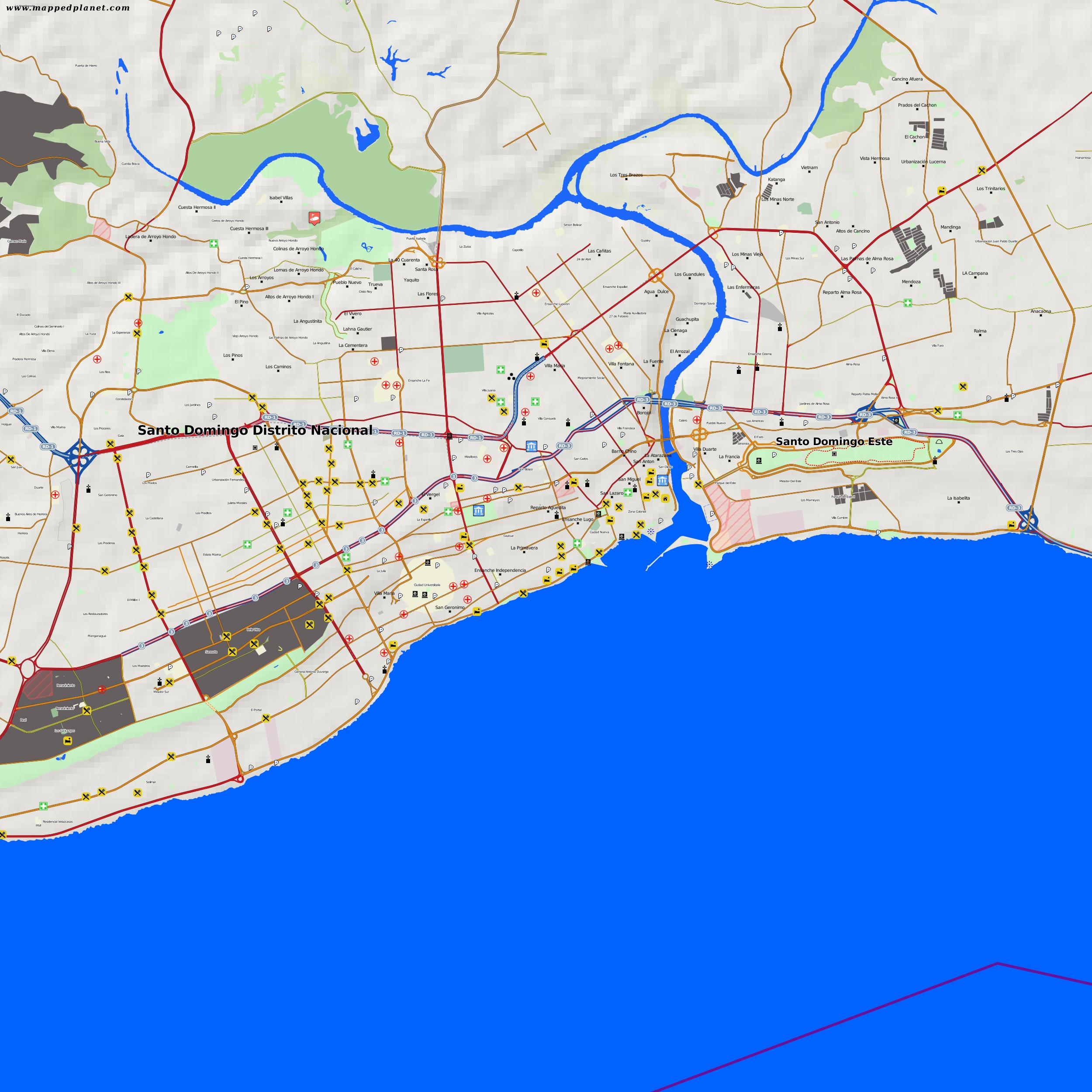 City Maps Santo Domingo - Santo domingo map