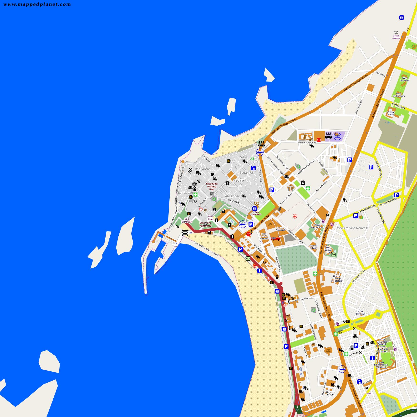 City Maps Essaouira