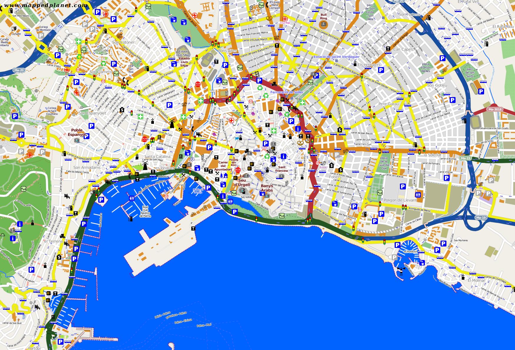 palma kart City maps Palma de Mallorca palma kart