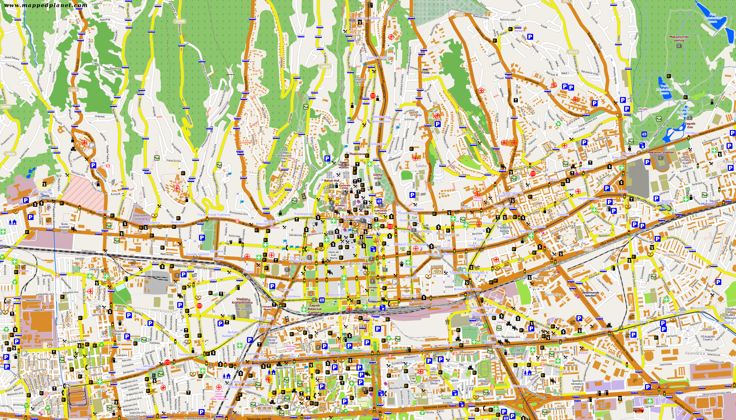 City maps Zagreb Zagreb City Map on rijeka city map, opatija city map, prizren city map, vukovar city map, treviso city map, cotonou city map, belgrade city map, film city map, geneva city map, zug city map, serbia city map, goteborg city map, perth city map, pretend city map, cluj city map, santiago city map, pula city map, alicante city map, port of spain city map, marbella city map,