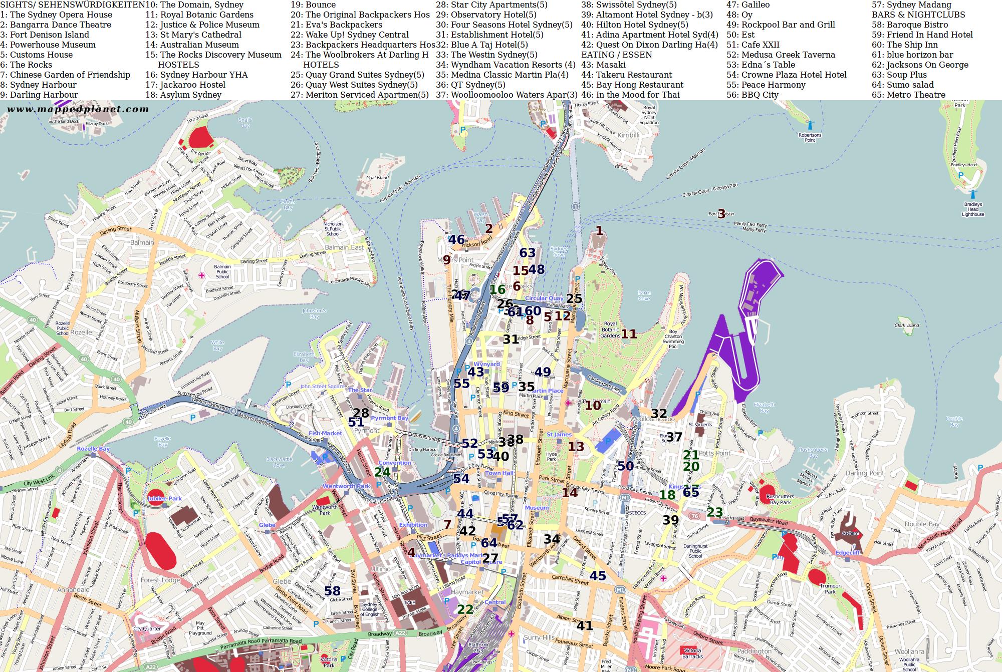 sydney karte:
