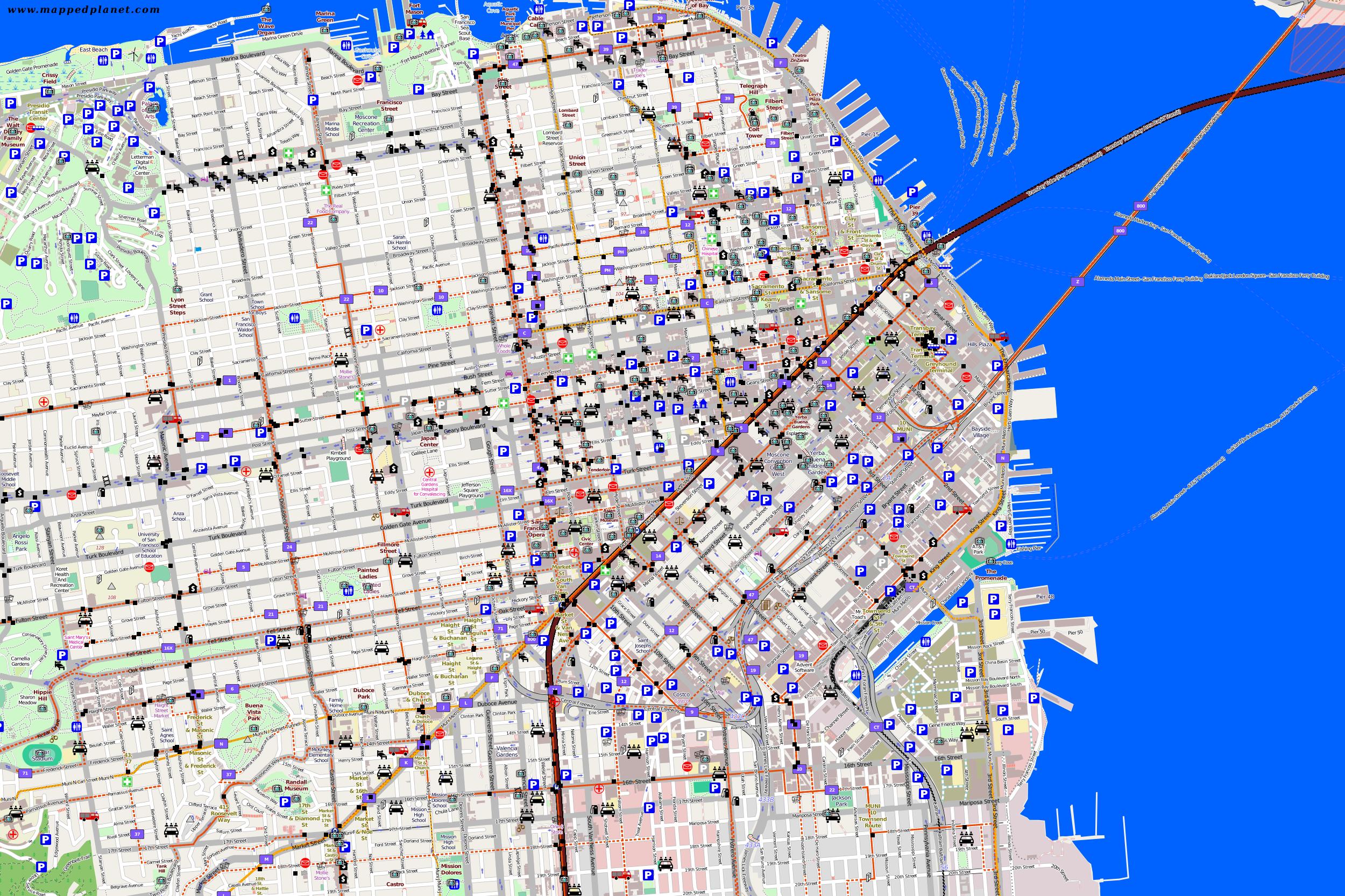 San Francisco Traffic Map