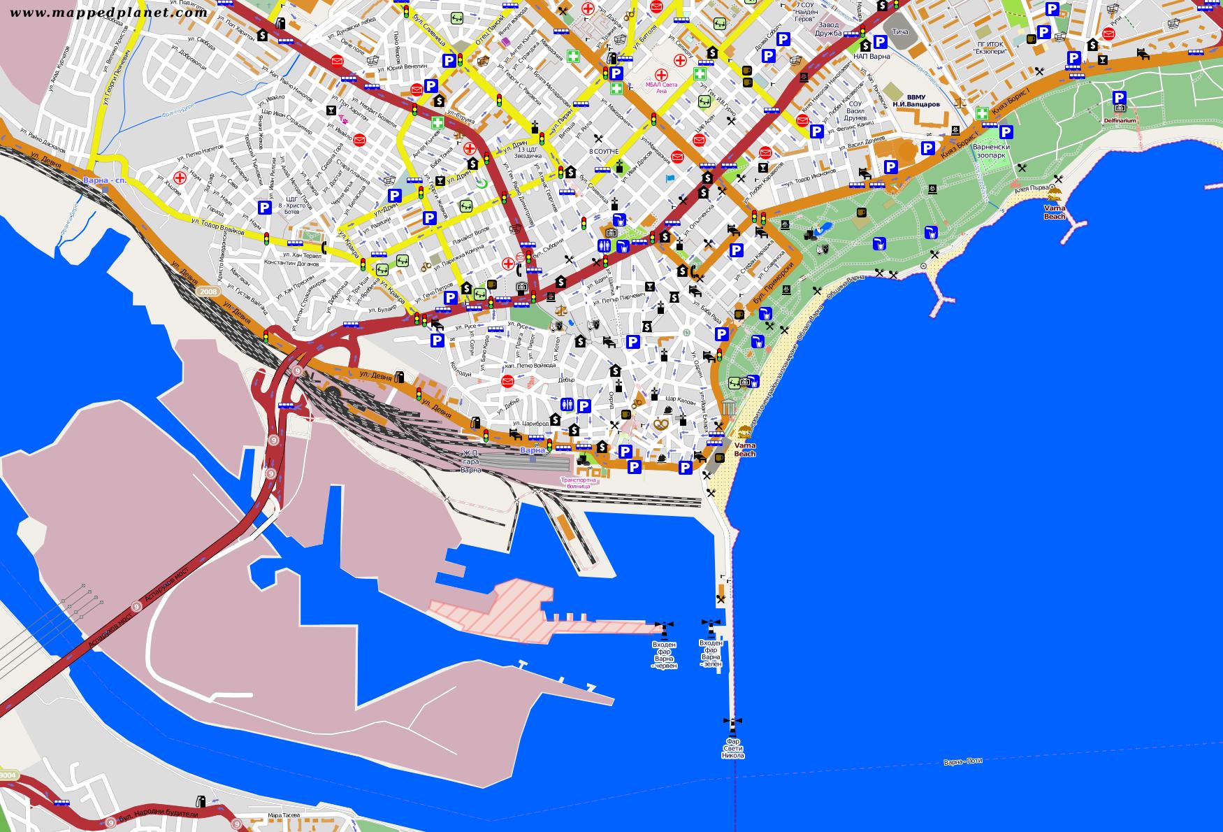 City Maps Varna - Varna map