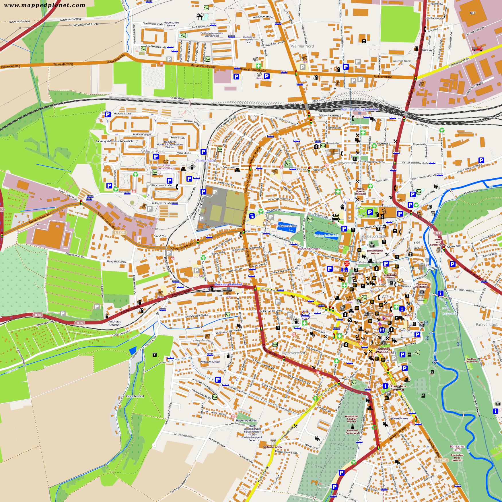 Stadtplan Weimar Pdf