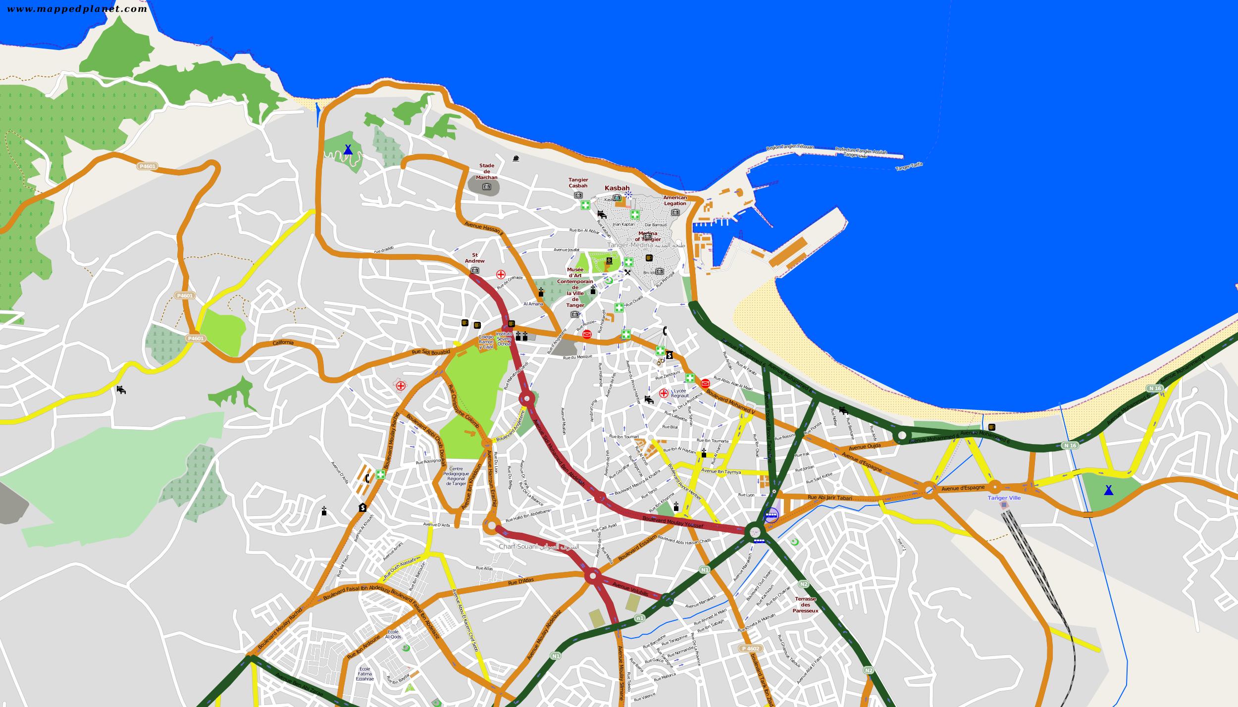 Where is Tangier, Morocco? / Where is Tangier, Morocco Located in ...